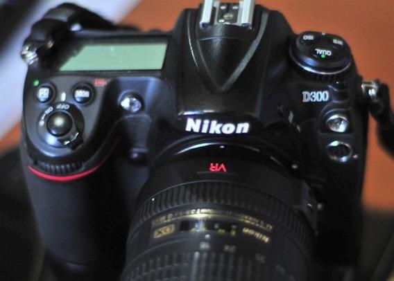 Camera Fotografica Nikon D300 Somente O Corpo.