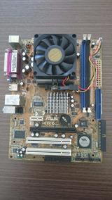 Placa Mae Asus - K8v-vm Ultra - Com Defeito