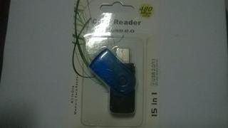 Leitor De Cartão De Memória Microsd Externo Usb