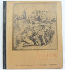 Color Slide Program Of The Great Masters - Titian - Livro