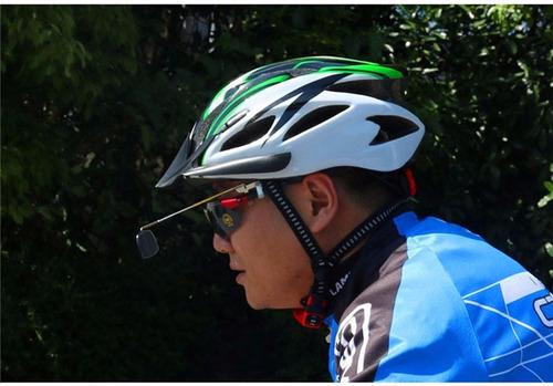 Espejo Para Casco Lentes Ciclista Alumino 360 De Rotacion