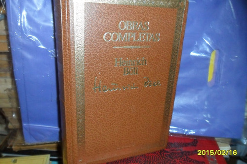 Obras Completas Heinrich Boll-seix Barral
