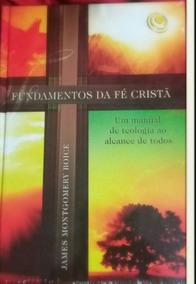 Livro Fundamentos Da Fé Cristã