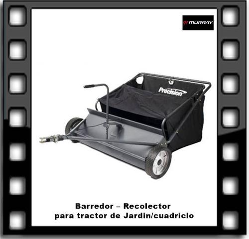 Barredor Recolector Para Tractor De Jardin/cuadriclo