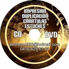 Duplicación E Impresión De Cd