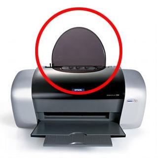Tapa Acrilico Apoya Papel Impresoras Epson