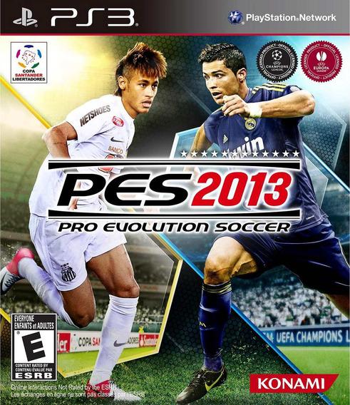 Jogo Pro Evolution Soccer 2013 Pes Playstation 3 Ps3 Futebol
