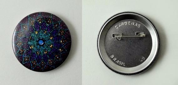 Button Alfinete (700 Unidades) 25mm