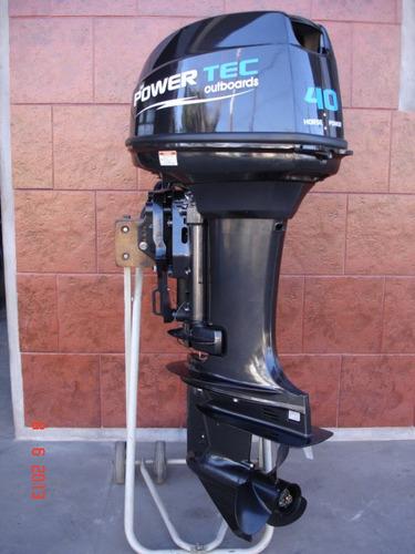 Imagen 1 de 15 de Motor Power Tec 40 Hp Arranque Y Power Trim Electrico Full!!