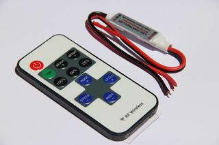 Dimmer 12v Sem Fio Com Controle Wireless Rf Pra Led Promoção