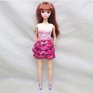 Roupa Saia Blusinha Boneca 28/30 Cm Blythe Pullip Barbie