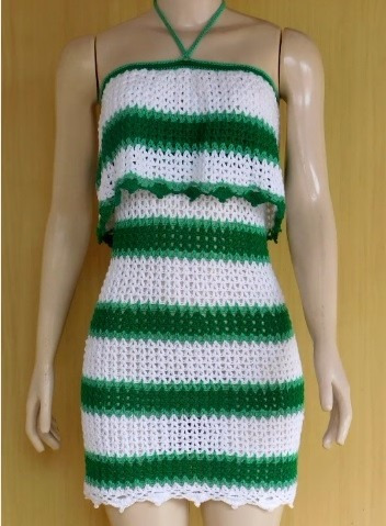 Vestido Divina A Crochet
