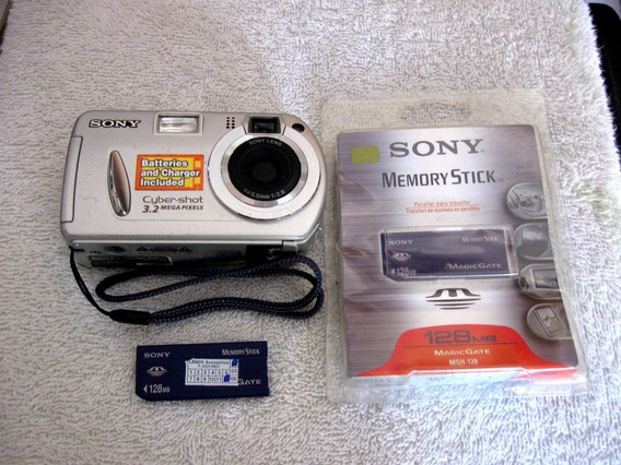 Câmera Digital Dsc-p32 - Para Manutenção!