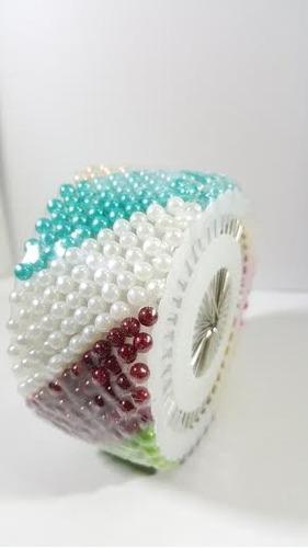 Alfileres De Colores Redondel Fancy Pins De 40 - En Disco