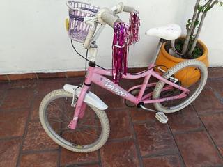 Bicicleta Vairo Rodado 20 Para Niña