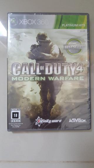 Jogo Xbox360 - Call Of Duty 4 - Original Lacrado