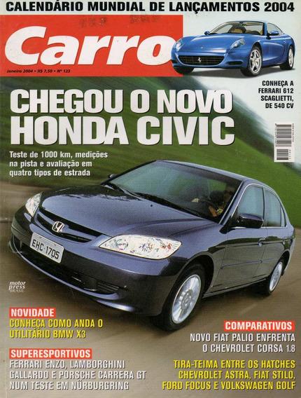 Carro Nº123 Honda Civic Bmw X3 Stilo Focus Golf Enzo