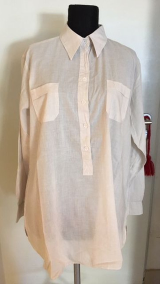 Camisa Mujer Casual Beige Xl Cardon Impecable!!!