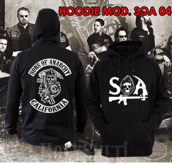 Sudaderas Hoodies Sons Of Anarchy Soa Jax Teller Choppers