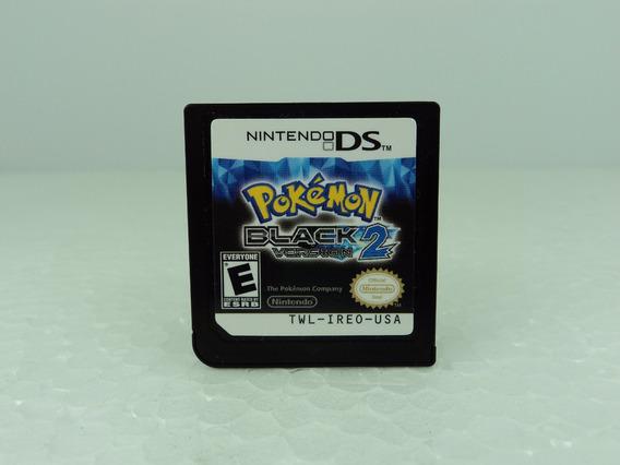 Pokemon Black2 - Nintendo Ds - Só A Fitinha - Ótimo Estado