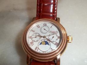 Relógio Europeu Todo Em Aço. J. L. Ipatinga. J. L.