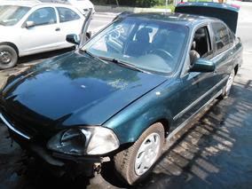 Sucata Civic Ex 1.6 16v 98 Pra Tirar Peças Motor Cambio Etc