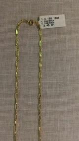 Cordao Masculino Ouro 18/60cm