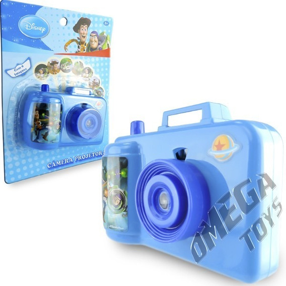 Camera Projetora De Imagens Coloridas Toystory Etc Disney.
