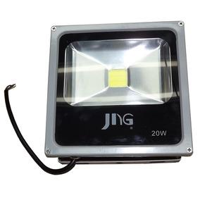 Refletor Led 20 W -bivolt Slim - Luz Branca Ip 66 Jng