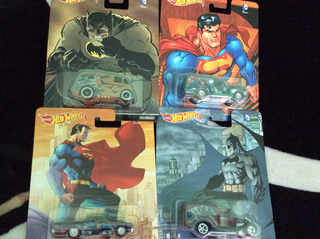 Hot Wheels Dc Comic- Batman Marvel Pop Culture 2016