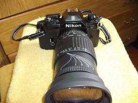Câmera Fotográfica Nikon Modelo Em - Analógica