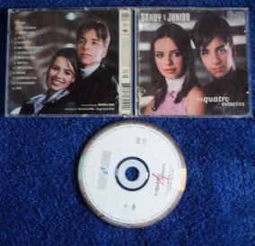 Cd Original - Sandy E Junior As Quatro Estações 1999
