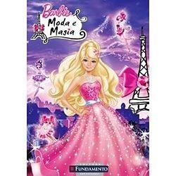 Livro - Barbie - Moda E Magia - Novo