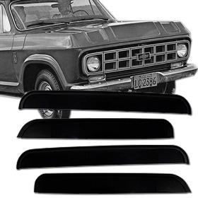 Calha Defletor De Chuva Chevrolet D20 D10 C10 85 / 97 2 Pts