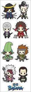 Plancha De Stickers De Anime De Sengoku Basara Devil Kings