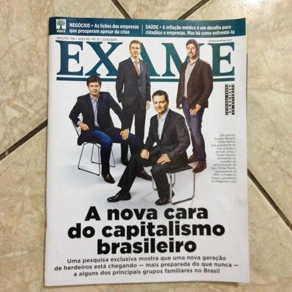 Revista Exame 1116 22/6/2016 A Nova Cara Do Capitalismo