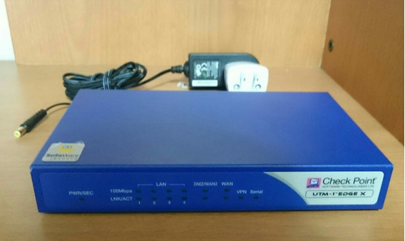 Checkpoint Utm Edge X Firewall Switch Router Vpn