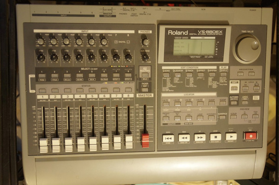 Gravador Digital Roland Vs 880 Ex Zerado.