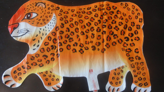 Globo Animal Inflable Tigre X5