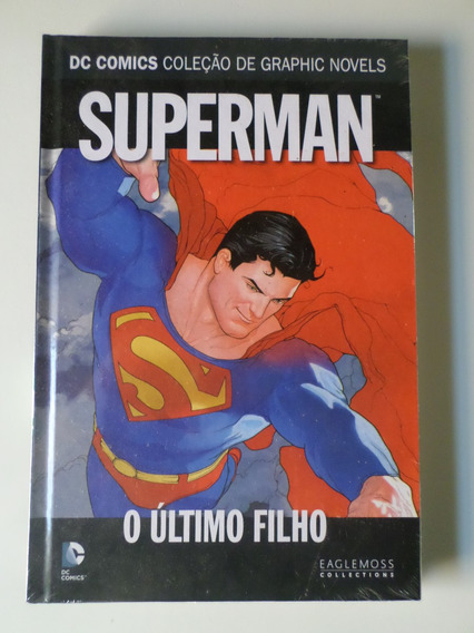 Hq Super Man Ultimo Filho Dc Comics Graphic Novels Eaglemoss