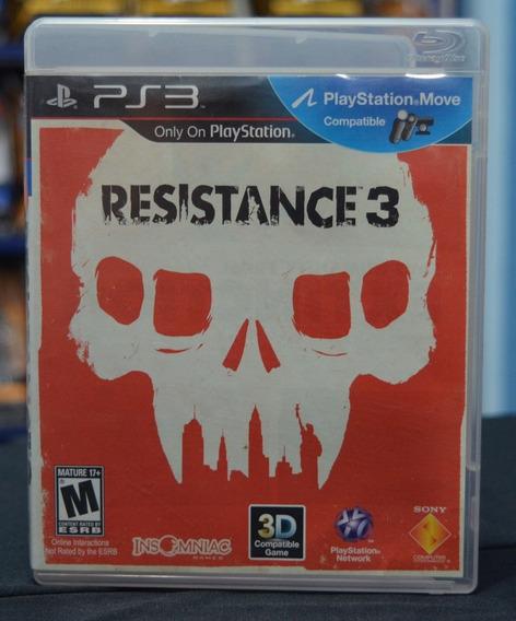 Jogo Ps3 Resistance 3 (usado)