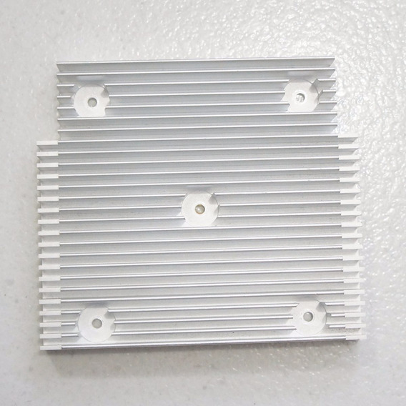 Dissipador De Calor Aluminio Para Montagens Diversas