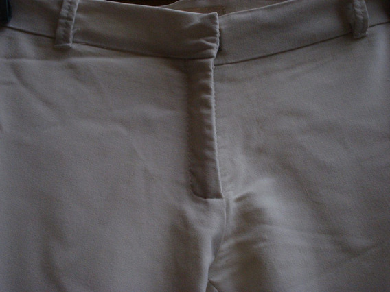 Pantalon De Vestir Tela Semi Elastizada Talle L Materia