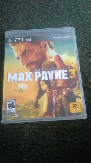 Max Payne 3 Ps3 Original Semi Novo