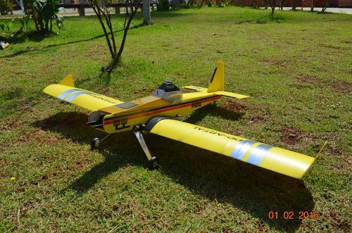 Imagem 1 de 6 de Aeromodelo  Ipanema Artal Pastinha  Nova Asa Baioneta