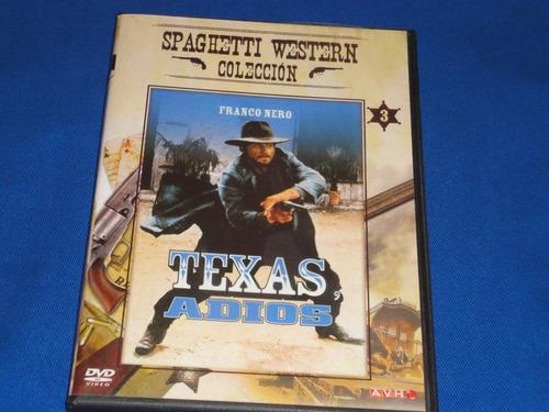 Texas Adios - Dvd -  Original.(con Revista De La Coleccion)