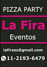 Pizza Party La Fira Eventos, Barra De Tragos Y Servicio Kids