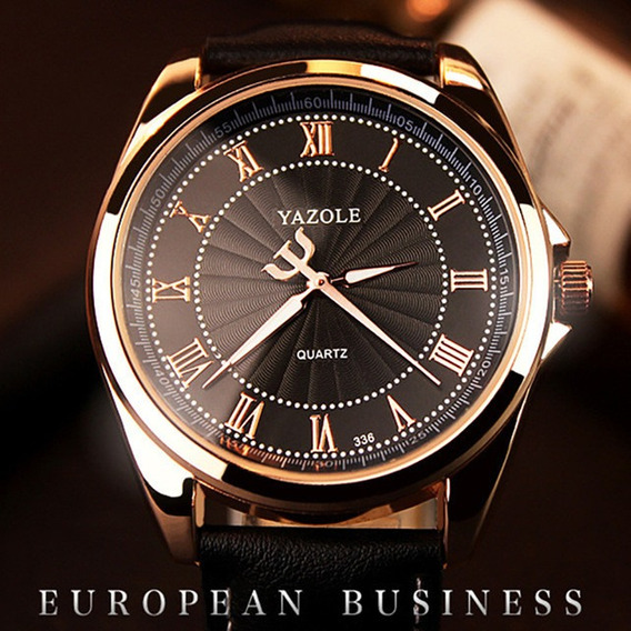 Relógio De Pulso Fashion Business Casual Vestido De Quartzo