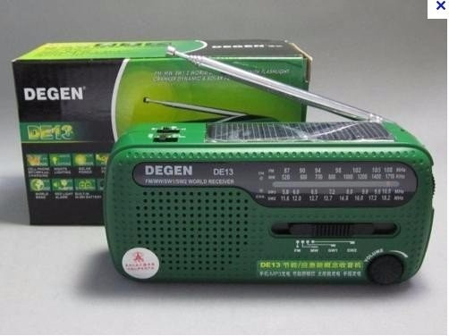 Radio Degen De 13 Dinamo E Solar