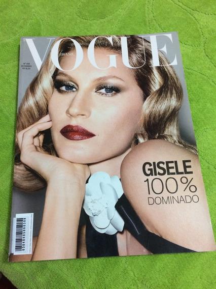 Revista Vogue Brasil N 448 Gisele Bundchen Top Regina Casé